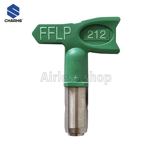 CHARHS 1/2/3 series Airless tips FFLP-108/110/112 /208/308/310/312/314 for Airless Spray Gun Low Pressure Guard Thread Size 7/8N