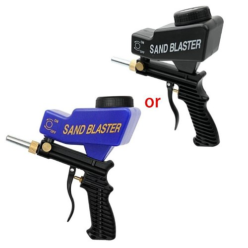 Anti-rust Protection Air Spot Sand Blaster Gravity Feed Sandblasting Handheld Pneumatic Gravity Feed Easy Carry