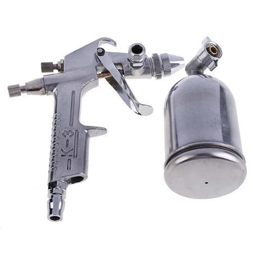0.8/1mm Magic Spray Gun Sprayer Air Brush Alloy Painting Paint Tool Gravity Feeding Airbrush Penumatic Furniture For Painting
