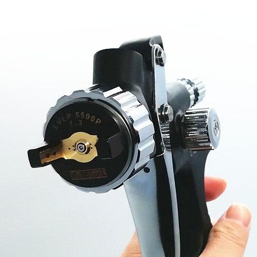 new  LVLP Professional  Spray Gun 1.3MM Nozzler Paint Spray Guns Airbrush For Painting paint gun SPRAYER 5500P