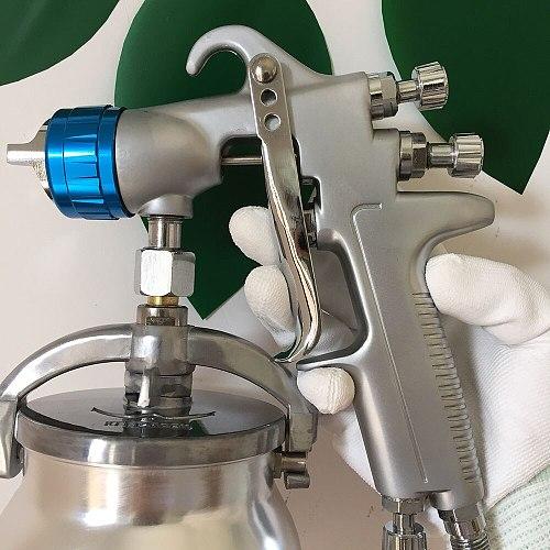 SAT0081 air pressure gun pistolet sablage hydro mousse air paint pistol airbrush nozzle 1.0mm LVMP airbrush gun