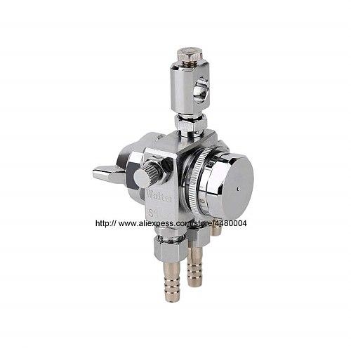 ST-6 Pneumatic Adjustable Pressure Feed Automatic Spray Gun For Liquid Spraying,Heavy Duty Sprayer Set With CYL