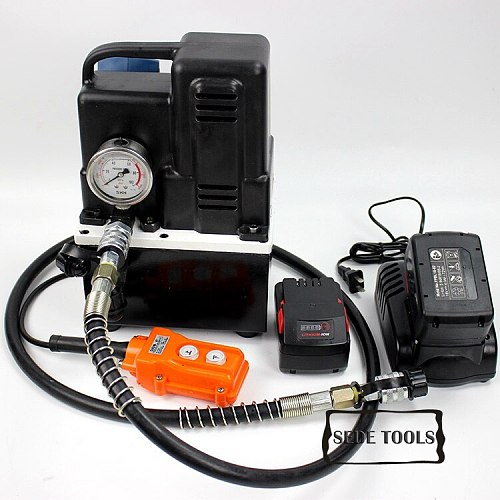 Cordless Hydraulic Pump Portable Battery Pump Cordless Station