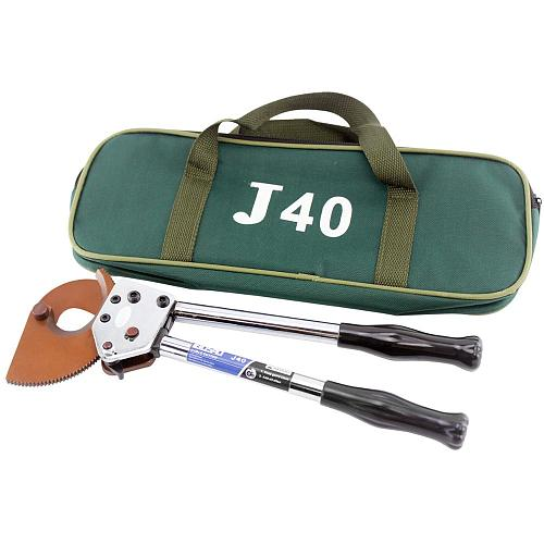 J40 Ratcheting Cable Cutter Wire Cutting Tools cut 40mm Cu/Alu cable