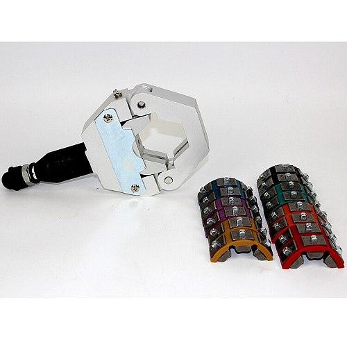 Foot Hydraulic Auto Hose Crimper for Air Condition Hose Repair Tools Hydraulic Hose Crimping Tool Auto A/C Hose Hydra-Crimper
