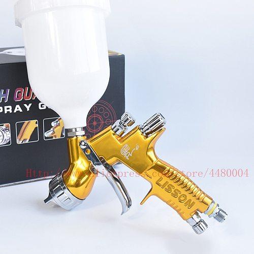HVLP GTI pro lite spray gun Manual spray gun 1.3mm 600CC cup Original spray gun