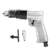 3/8  1700rpm High-speed Pneumatic Drill Reversible Rotation Air Drill Tool for Hole Drilling