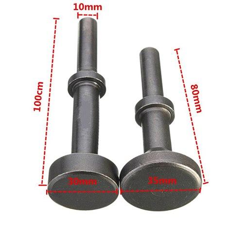 1pc 80mm/100mm Smoothing Pneumatic Drifts Air Hammer Bit Set Extended Length Tool