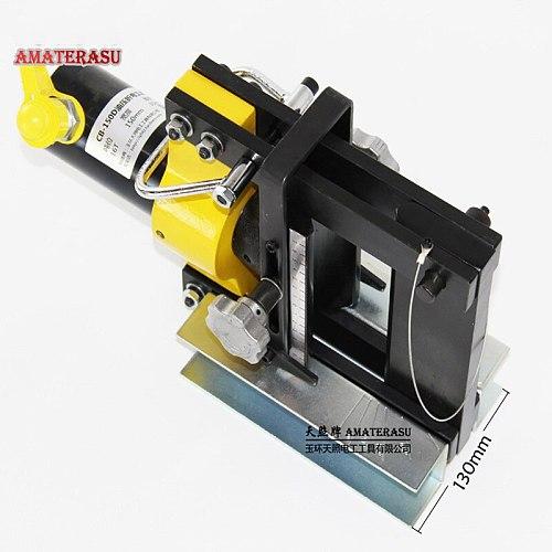 Hydraulic Pipe Bending Machine Hydraulic Copper Busbar Bender Brass Pressing Tool CB-150D