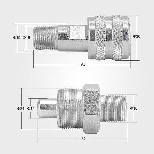 3/8''  NPT Hydraulic quick coupler