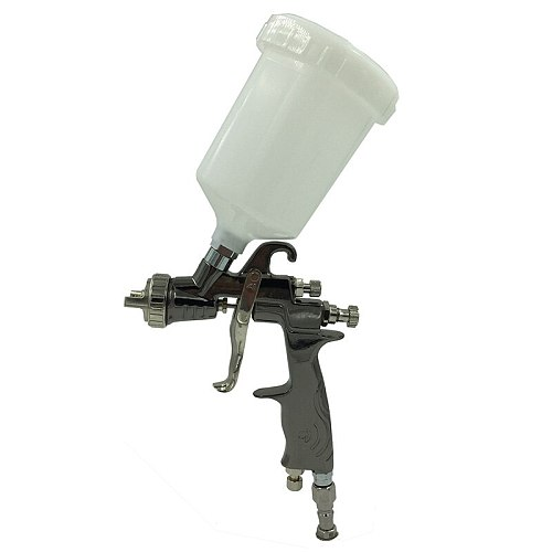 SAT0083 High Pressure Car Paint Sprayer Power Tools Pneumatic Automotive Paint Gun LVLP Air Chrome Mirror Chrome Spray Paint Gun