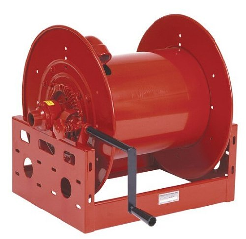 50 to 60 meters multifunctional hand operated hydraulic rubber hose reel