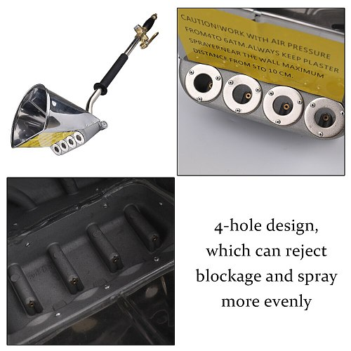 High Efficiency Roof Pneumatic Portable Multifunctional Spray Machines Cement Mortar Shovel Paint Sprayer Machine