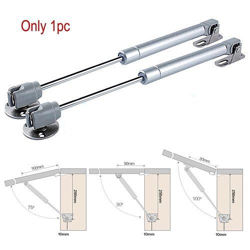 JustinLau Useful Lift Hydraulic Gas Strut Lid Stay Support Cabinet Hinge Soft Open Close 40/60/80/100/120/150N