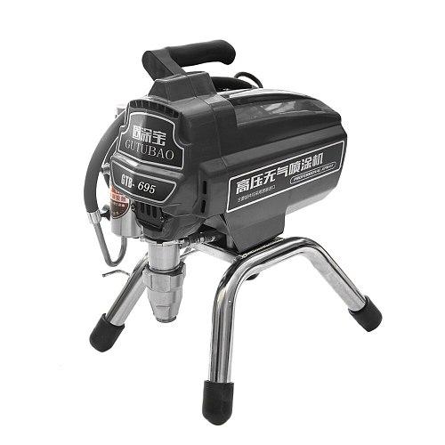 Professional airless spraying machine Professional Airless Spray Gun 3000W  3.2L Airless Paint Sprayer 695 painting machine tool