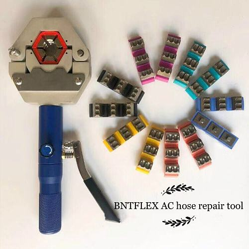 71500 manual AC kit AC repair hand crimping tools hose crimper