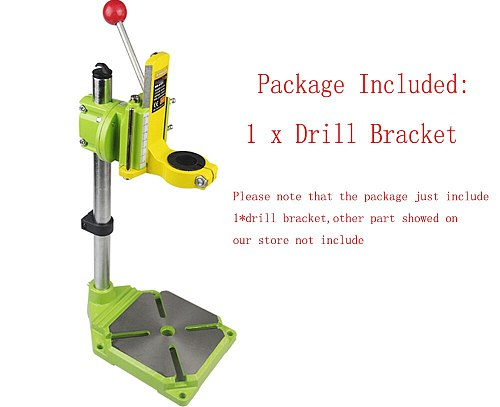 MINIQ Electric Power Drill Press Stand Table for Drills Workbench Clamp Drilling Collet  0 90 degrees