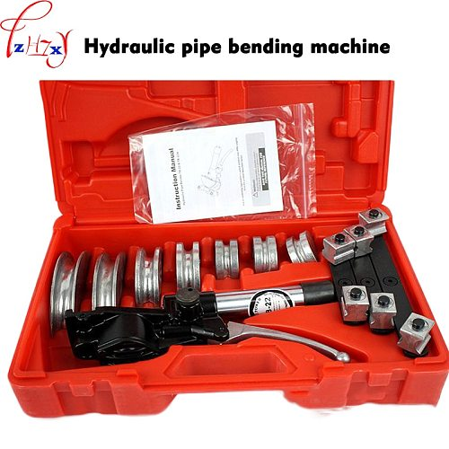 TB-22 Manual Hydraulic Pipe Bending Machine Aluminum Alloy Hydraulic Pipe Bender Quick Position Copper Tube/hose Pipe Bender