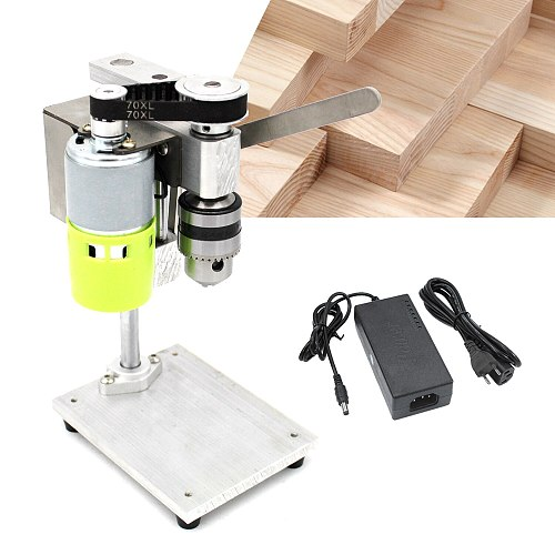 Mini Drill Press for Bench Drilling Machine Variable Speed Drilling Chuck 1.5-10mm For DIY Wood Metal Electric Tools Bench Drill