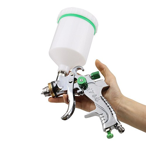 Spray Gun Household Tool Spray Gun Sprayer Flow Control Airbrush Easy Spraying Power Tool Set Spray Gun 600ML 1.4/1.7/2.0mm