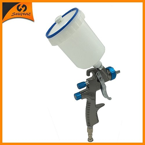 SAT1173 professional spray gun car paint sprayer paint spray lvlp compressor spray guns nozzle replacement stainless steel gun