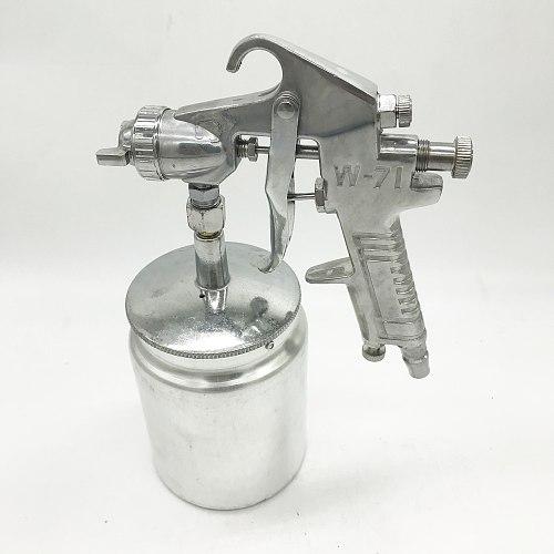DEWABISS w71s spray paint gun 1.5mm 600ml down pot Airbrush airless spray gun for painting cars Pneumatic tool air brush
