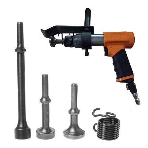 Drop Wholesale 3PCS Smoothing Pneumatic Air Hammer BitS Long Bit Tool &1* Spring Tire Repair
