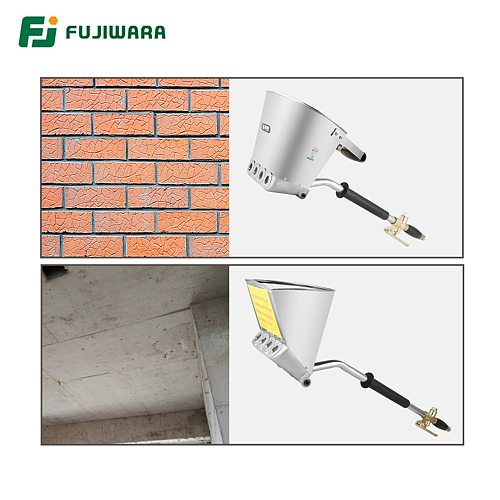 FUJIWARA 3L/3.5L Pneumatic Cement Mortar Spray Gun Wall And Roof Rapid Blasting Mortar Cement Wall Machine Roof Spray Gun Air