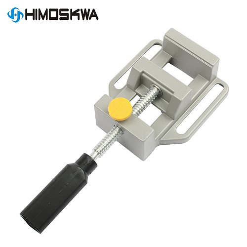 Aluminum Alloy Flat Vise For Electric Drill Stand 8010 Tongs Mini Home Use Flat Tongs Bench Vise