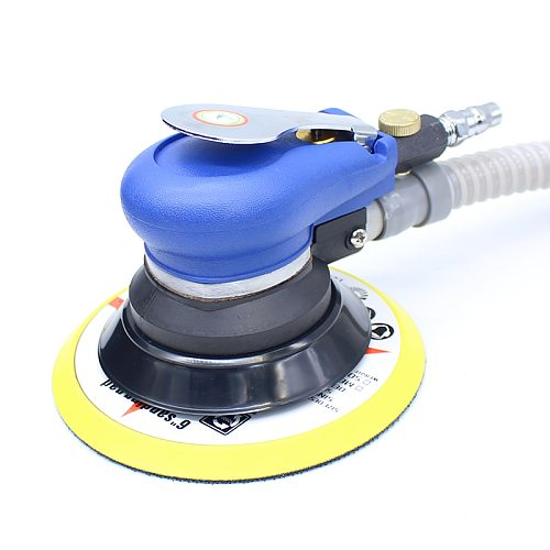 6 Inches Self-vacuum Pneumatic Sander 150MM Air Sanding Machine Air Random Oribit Sander Pneumatic Grinder Tool