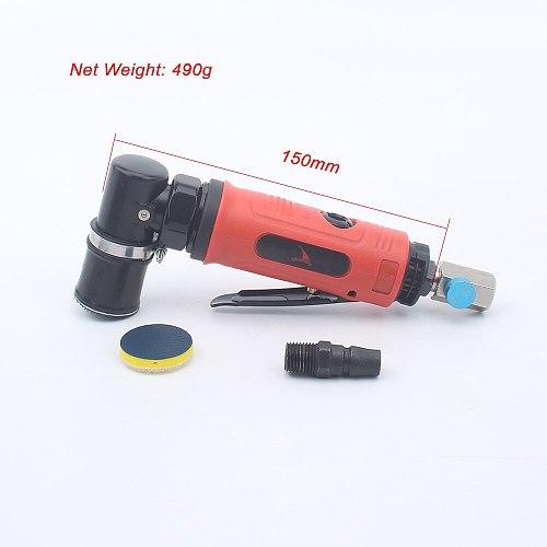 High Quality 1 Inch Orbital Sander Air Spot Sander Pneumatic Polishing Machine Tool 90 Degree Point Grinder Polisher Machine