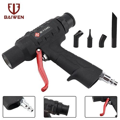 Air Wonder Gun Kit Dual Function Air Vacuum Blow Gun Pneumatic Vacuum Cleaner Kit Air Blow Suction Gun Kit Tools Air Tool