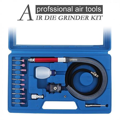 16pcs/lot High-Speed Air Micro Die Grinder Kits Mini Pencil Polishing Engraving Tool Grinding Cutting Pneumatic Tools Mayitr