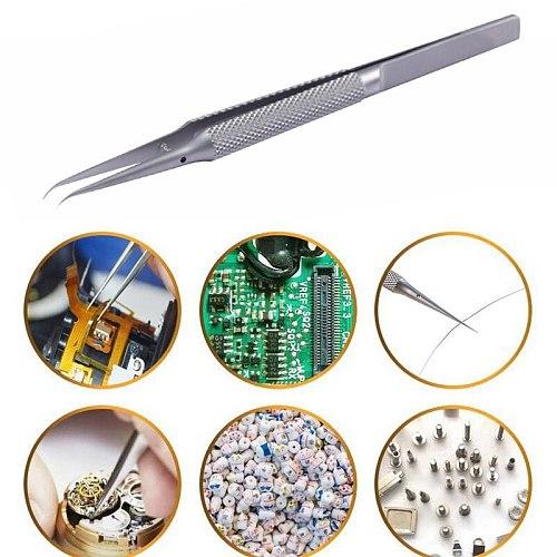 New Phone Repair Tools Jump Line Tweezers Clip 0.02mm Fly Line Ultra Titanium Alloy Precision Tweezers for iPhone Motherboard