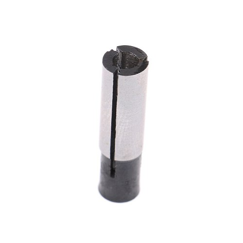 6mm To 3.175mm 1/8  Engraving Bit CNC Router Tool Adapter For 6mm Collet Sliver Black Color