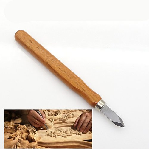 High quality Cutter Tool woodcut Carver Carving chisels wood working Pointed Sculpture Knife Woodworking Cut chip cleaning Tools