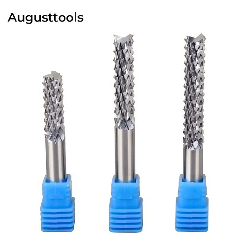 1pcs 3.175/4/6mm Carbide Tungsten Corn Cutter cutting PCB milling bit end mill CNC router bits for Engraving machine