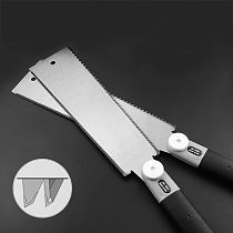 Double Edge Razor Saw Japanese Style Pull Saw Teeth Per Precision Hand Saw For Tenon Woodworking Tools