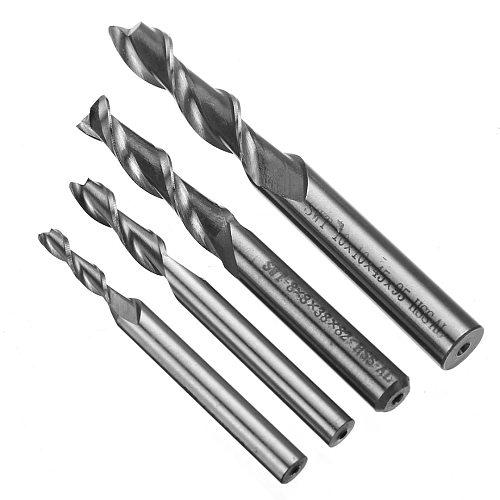 1pc 2 Flute 8mm HSS & Aluminium End Mill Extra Long 4/6/8/10mm CNC Milling Cutter Bit