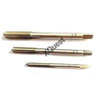 XQuest Schrader Tyre Valve Thread Tap 5V1 5V2 6V1 8V1 8V2 Right Cutting Straight Fluted Taps 9V1 10V1 10V2 11V1 12V1 13V1 15V1