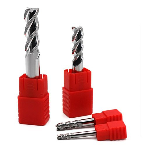 HRC55 3 Flutes Carbide End mill Aluminum Copper Wood Cutter Endmills 1 to 12mm Cnc Milling Tools Tungsten Steel Milling Cutter