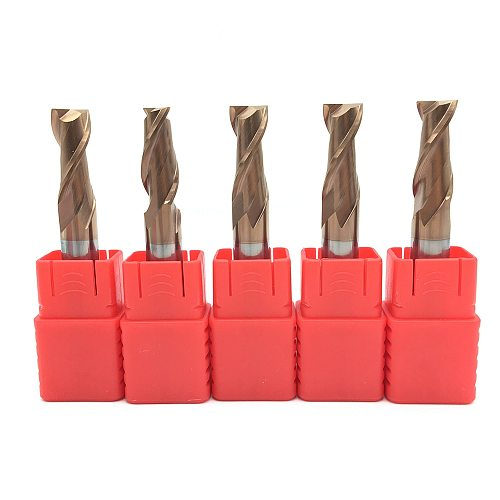 2 Flutes HRC55 Carbide end mill Milling Cutter Alloy Coating Tungsten Steel endmills cutting tool CNC maching Endmill