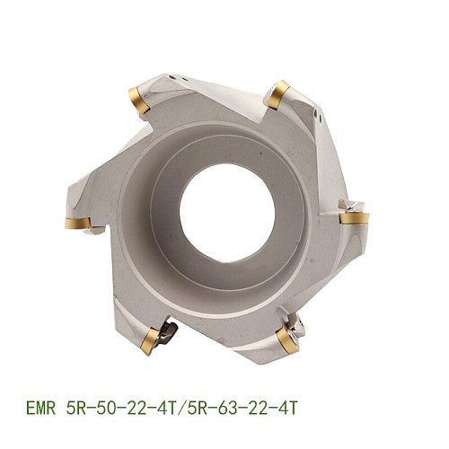 EMR 5R 50 22 4T  EMR5R 63 22 4T Face Milling Cutter Holder CNC Lathe Machine Tool for RPMW Round carbide Inserts