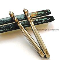 2pcs 10pcs HSSE Sipral fluted tap M1 M1.2 M1.4 M1.6 M2 M11 M2.3 M2.5 M2.6 M3 M3.5 M4 M4.5 M5 M6 M7 M8 M9 M10 M12 Machine TAPs