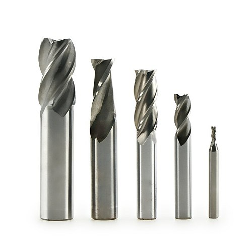 1pc Two Flute 1-6.5mm CNC Milling Cutter Router Bit For Metal Carbide Milling Cutters Router Drill Bits For Metal Tool