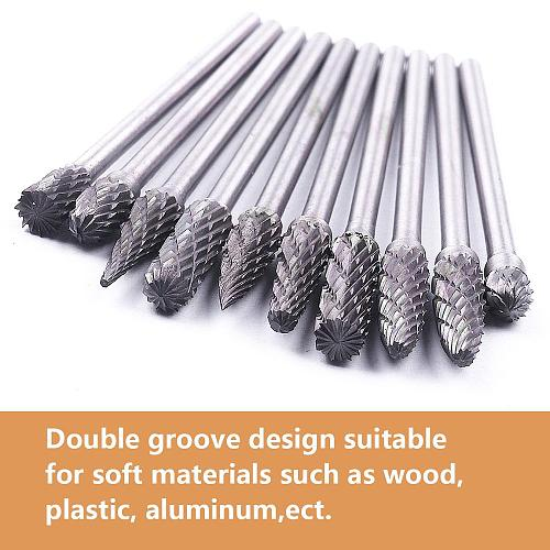 1Pcs 2.35mm Shank 4mm Blade Tungsten Carbide Rotary Burr Cutter For Dremel Rotary Tool Milling Cutter Engraving Bit