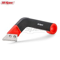 Hi-Spec Heavy Duty Grout Remover Tile Grout Saw Grout Rake Hand Saw with 2 Tungsten Carbide Blades for Cleaning Tile Gap TT001