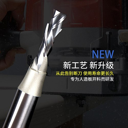 Woodworking Tool Tungsten steel Two Flutes Complex End Mill CUTTER Arden Router Bits