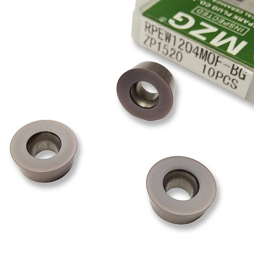 Discount Price RPEW 0802 1003MO  ZP1521 Solid Tungsten Carbide Milling Cutter Inserts for Stainless Steel Processing