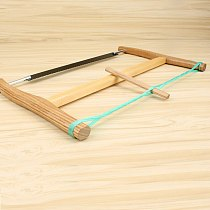 Wooden Frame Saw Woodworking Maganese Steel Blade Tight with Rope Three Size Choosing Chinese Traditional Hand Tools
